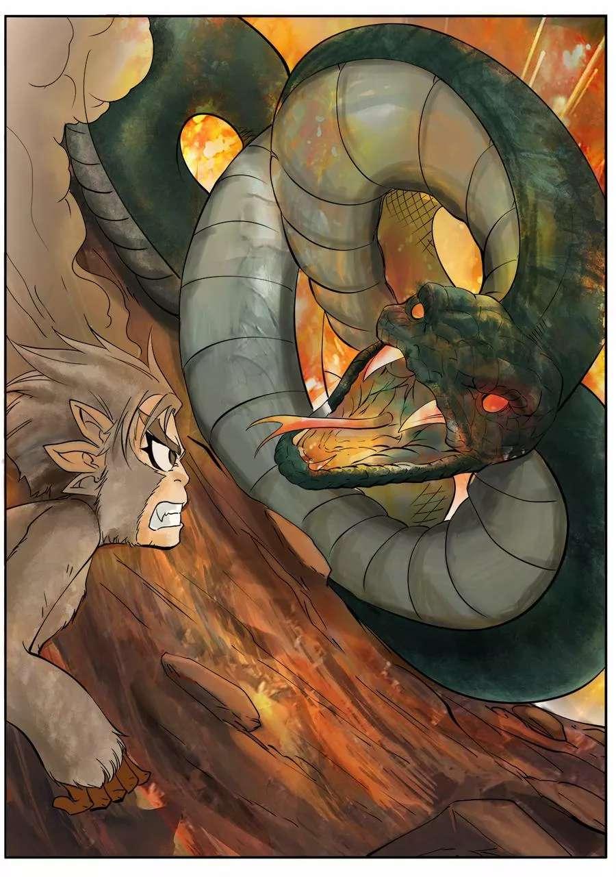 妖道至尊第2话  第2话 灵猴斗蛇妖 第 5
